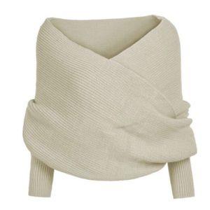 Sweaters - Women Long Sleeve Loose Cloak Cardigan Knitted